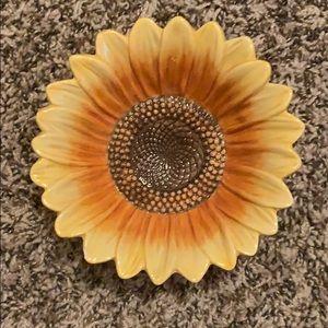 Sunflower Jewelry Dish